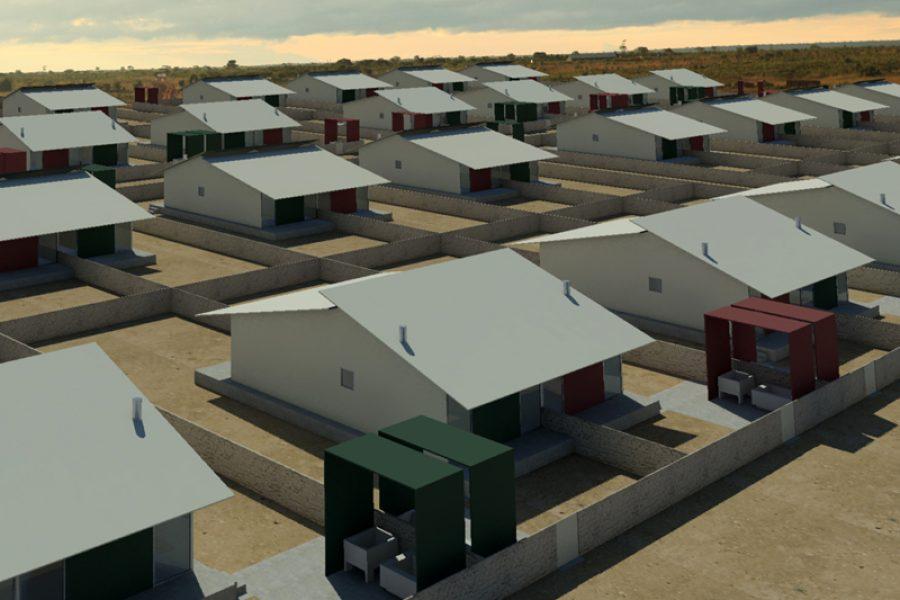 Habitação Modular em Angola