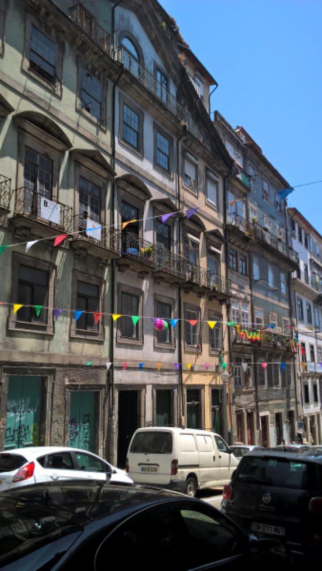 Edifício na Rua S. João – Porto